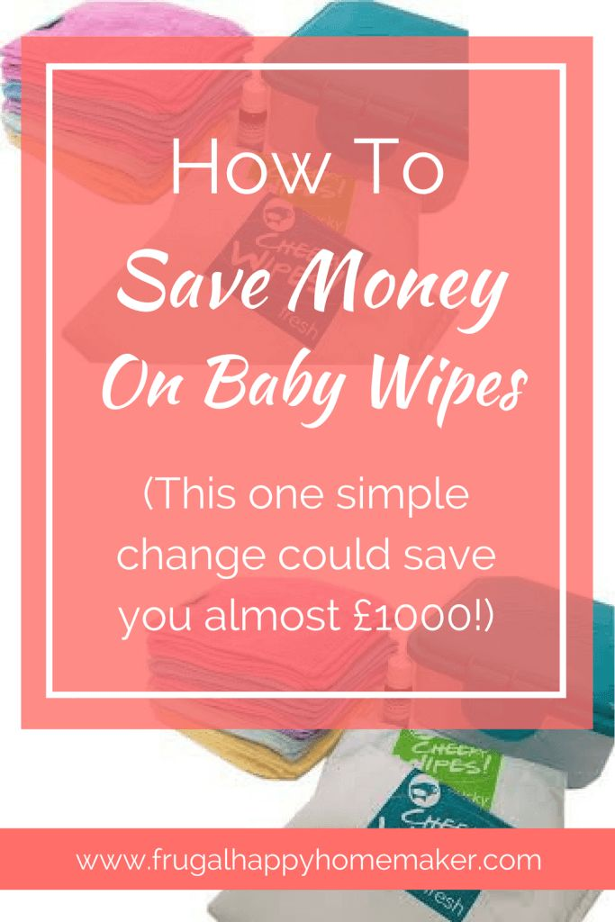 Washable wipes have many benefits, including saving you a ton of money!
