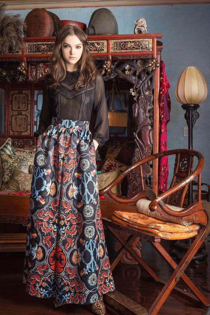 russian inspired fashion, theladycracy.it, elisa bellino, vestirsi come una zarina, fashion blog italia, alice & olivia pre fall 2015-16, fashion blog italia