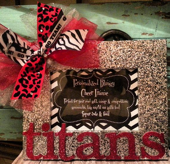 Personalized Custom Cheer Team Blingy Picture by RebelChickDesigns, $20.00