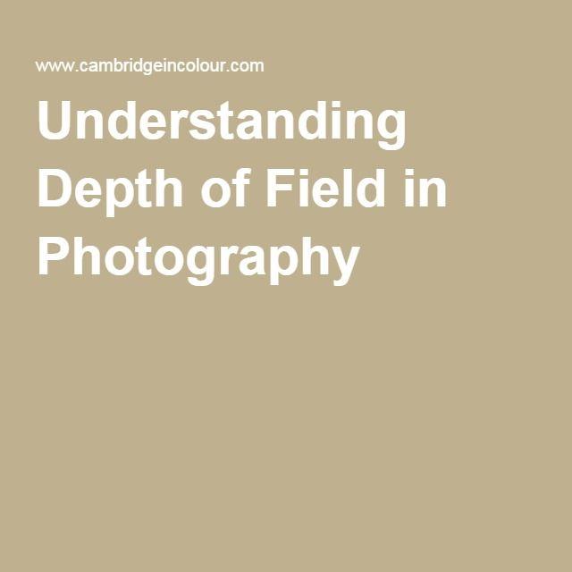 Understanding Depth of Field in Photography