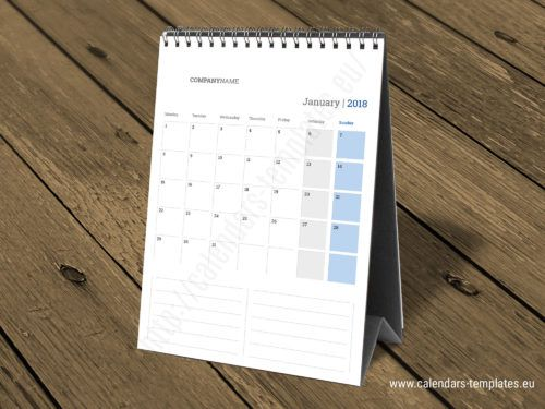 50 Best Desk Calendars Images On Pinterest Calendar Templates