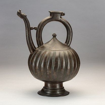 A Bronze 'Kettle' Ewer