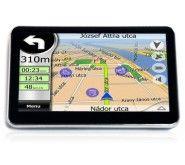 E-PRANCE HD 5″ Car GPS Navigator+Bluetooth+AV-IN+FM+free 4GB Card WIN CE 6.0