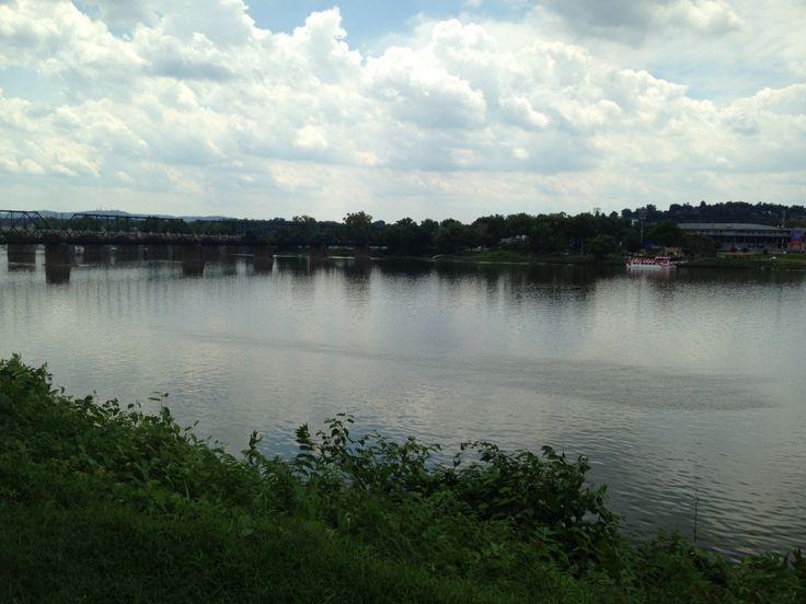 Susquehanna River in Harrisburg, PA