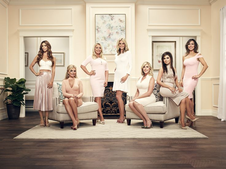 Lydia McLaughlin, Tamra Judge, Shannon Beador, Meghan King Edmonds, Vicki Gunvalson, Peggy Sulahian, and Kelly Dodd