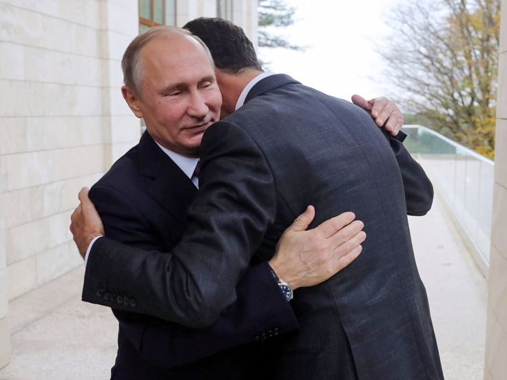 images of putin | Photo of Assad hugging Putin says it all about Russia, Syria - Business Insider