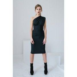 Asymetric dress #minimalism #romestyle