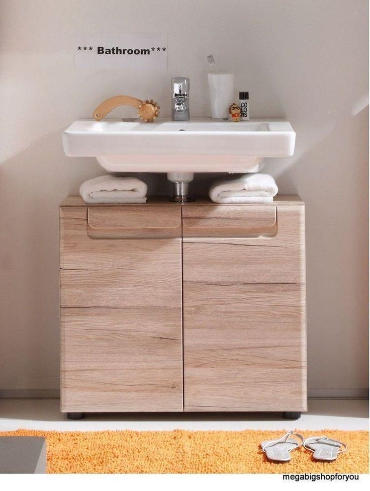 Bathroom Furniture Under Sink Cabinet Modern Design Home Material Real Wood