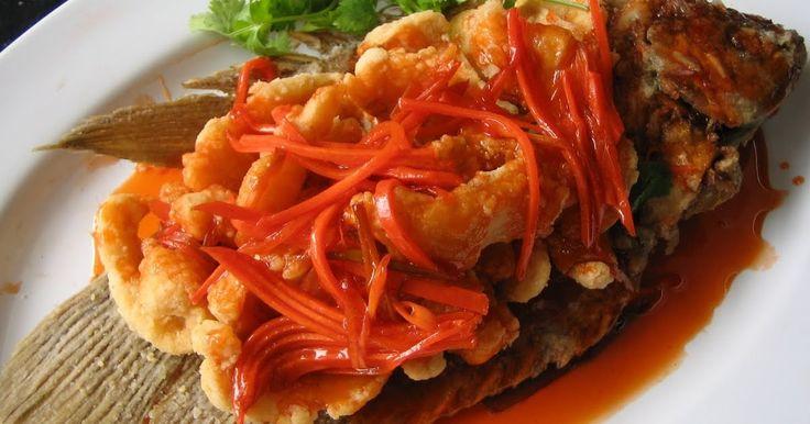 Resep Ikan Kakap - Hai sahabat Tips Resep  Masakan, kali ini TipsResepMasakan.net akan berbagi Aneka Kuliner Resep Ikan Kakap Asam Manis S...