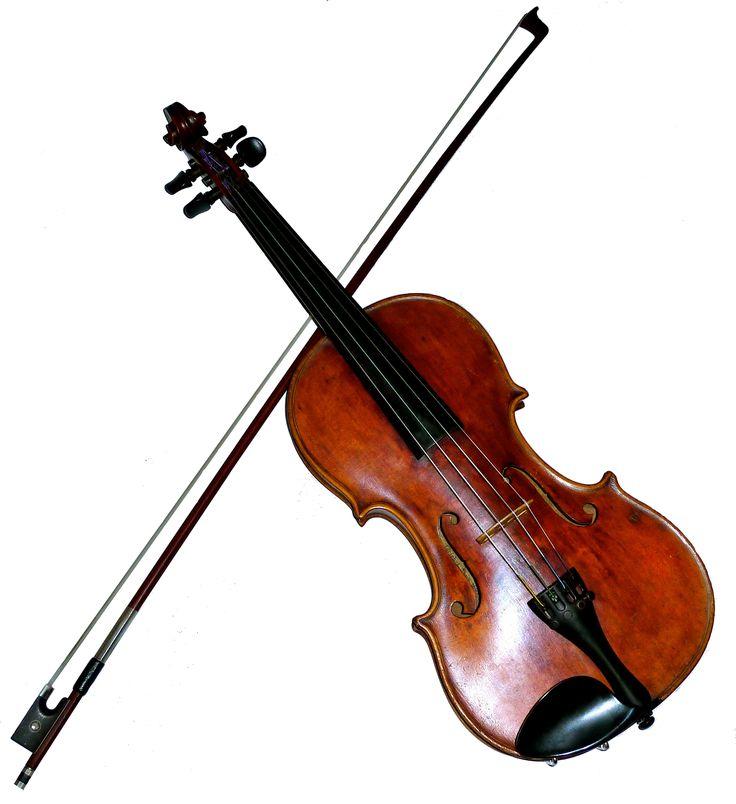 Alice plays violin