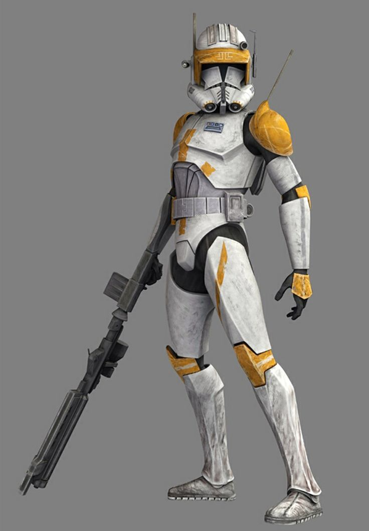 """CC-2224 (""""Cody""""), is a clone marshal commander who served ..."""