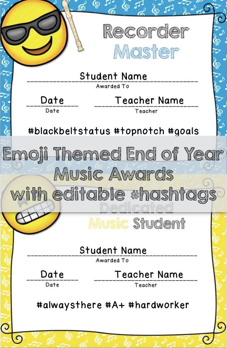 Reward your students for their hard work! Includes 24 premade award titles with 3 editable hashtags plus 22 blank editable award templates that you can personalize yourself. Color and black & white versions available.