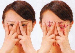 Pozbądź się zmarszczek i worków pod oczami za pomocą ćwiczeń.