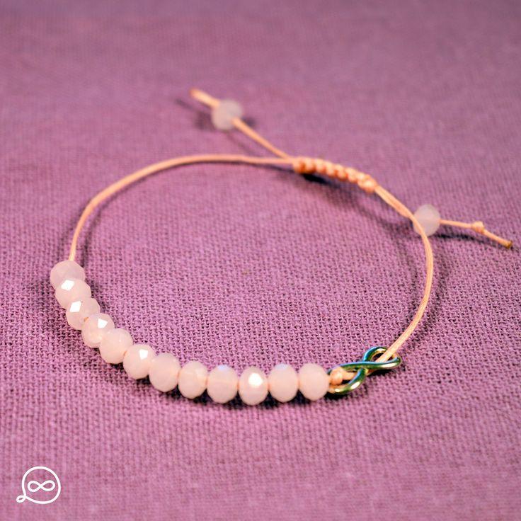 Pink Beads Bracelet. #tufatufa