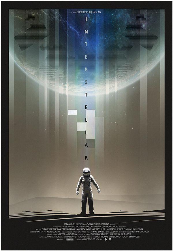 Best Interstellar Posters Fan Made Images On Pinterest - Beautifully designed interstellar posters james fletcher
