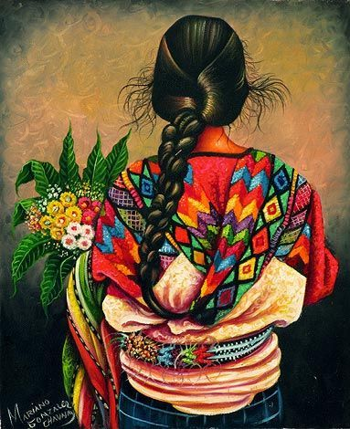 Illustratus: Arte Maia - GuatemalaYou can find Mexican art and more on our website. Mexican Artwork, Mexican Paintings, Mexican Folk Art, Art And Illustration, Illustrations, Guatemalan Art, Arte Latina, Latino Art, Mexico Art