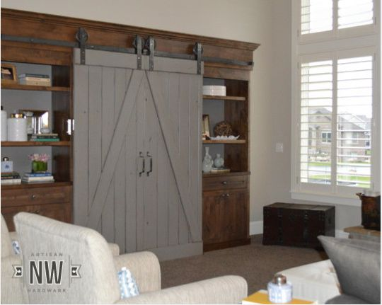 Let your imagination become reality with a custom-made sliding barn door.
