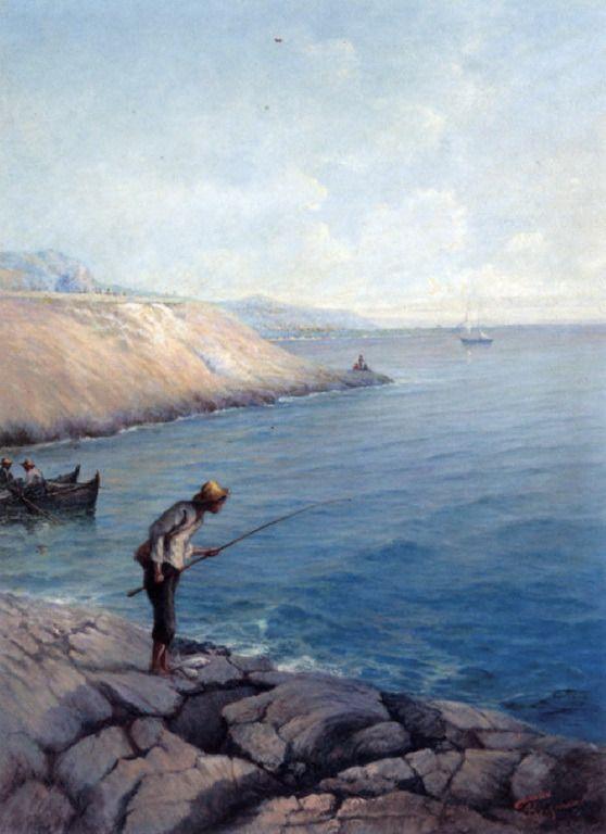 .:. Πούλακας Γιάννης – Yiannis Poulakas [1863-1942] Νεαρός ψαράς