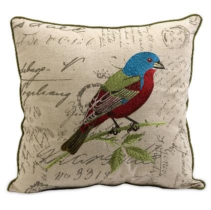 109 Best Images About Bird Pillows On Pinterest Linen