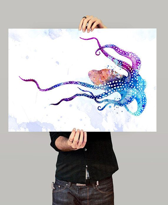 Hey, I found this really awesome Etsy listing at https://www.etsy.com/listing/230462334/octopus-watercolor-print-octopus-art
