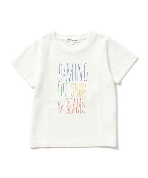 B:MING LIFE STORE by BEAMS KIDS(ビーミング ライフストア バイ ビームス キッズ)のビーミング by ビームス / TOMPKINS 天竺プリントTシャツ(Tシャツ/カットソー)|詳細画像