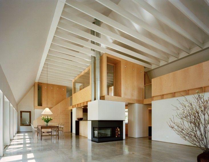 Specht Harpman, Polished Concrete Floors in Renovated Barn | Remodellista