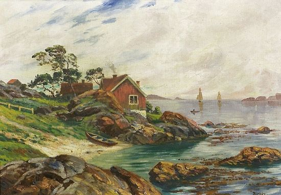 Carl-Edvard Diriks (1855-1930): Fra Havnesund