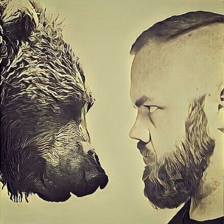 •BEAR BEARD• A man with talent can inspire us all. We love the pics Milkman Grooming Co Ambassador @riza.vision puts together.* *No animals were harmed in the making of this Instagram post. #beard #bear #beardgang #freshbetweentheears