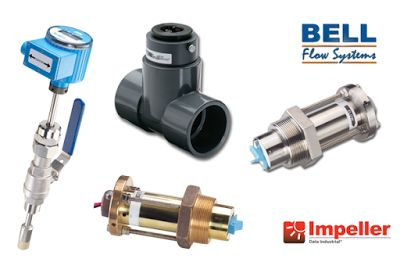 Offering a range of insertion sensors from Impeller serving a wide range of markets, including irrigation, HVAC, energy management, water treatment, fire-fighting equipment and general industrial.