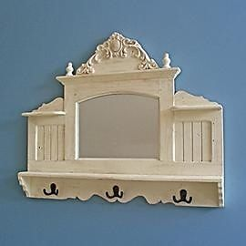 Victoriana-Mirror-Wooden-Wall-Shelf-with-Hooks-Cream-Distressed