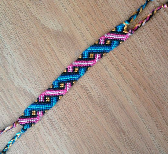 Unique embroidery thread bracelets ideas on pinterest
