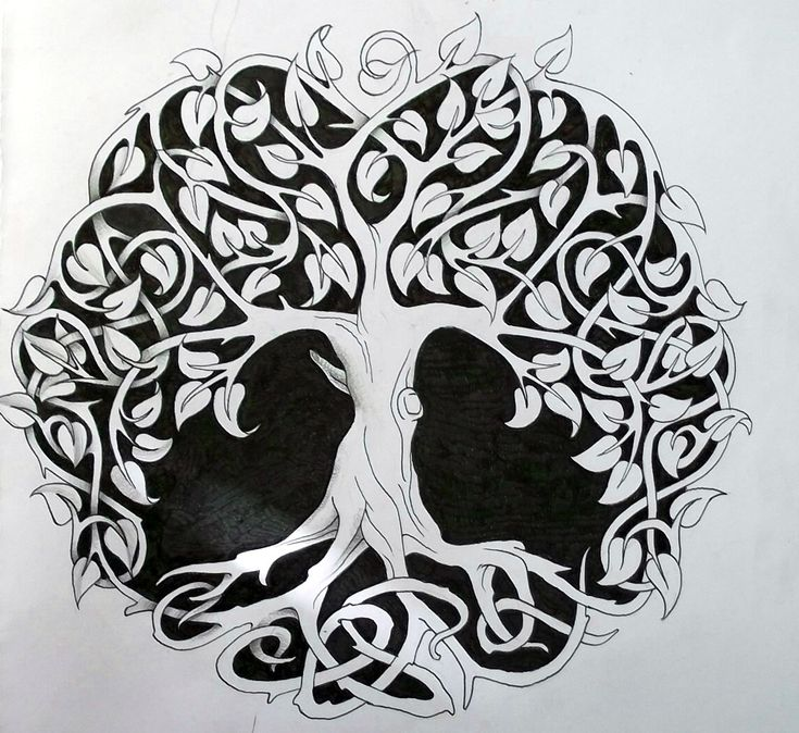 this may be my favorite tree of life image. seems like it would be easy enough to make the trunk into a female figure.
