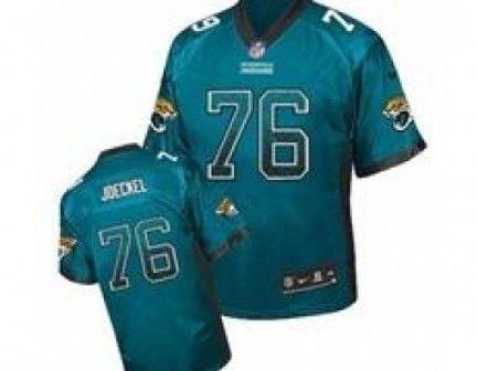 ... Nike Jacksonville Jaguars 76 Luke Joeckel Teal Green Jerseys(Elite  Drift Fashion) ... fba4f77d0