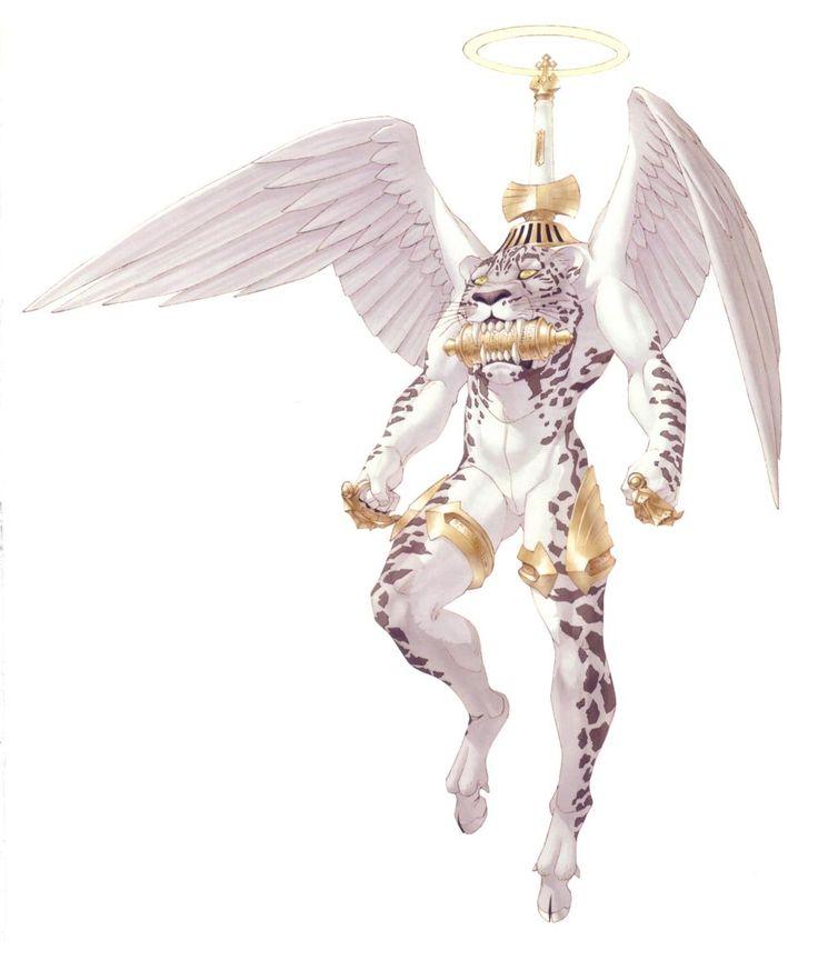 Hallel Race Images - Megami Tensei Wiki: a Demonic Compendium of your True Self