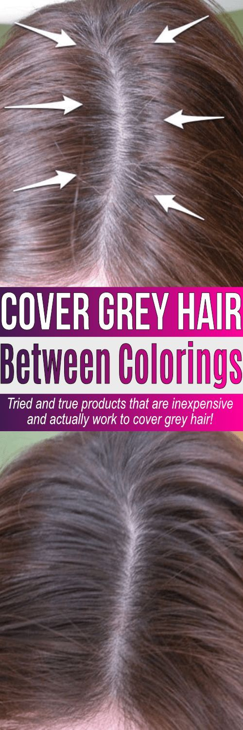 Tried and true best root touch up for grey hair products all under $10. These products win as the best way to cover roots on dark hair but work for blondes too. If you have grey, it can be covered! #hair #beauty #haircoloring #everydaysavings #savemoney