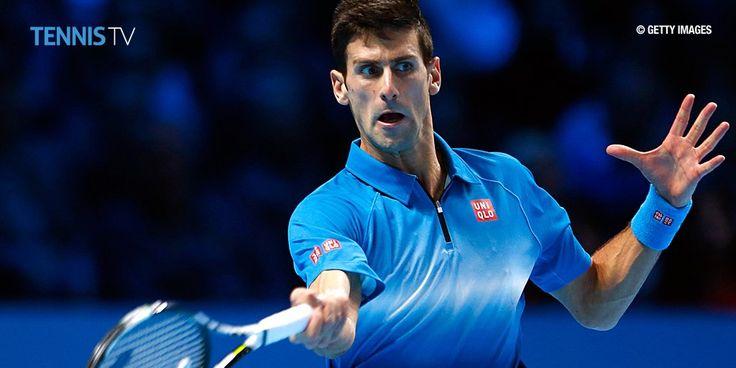 N・ジョコビッチ、R・フェデラーにストレート勝利、4連覇の金字塔!(ATPワールド・ツアーファイナルズ 2015)