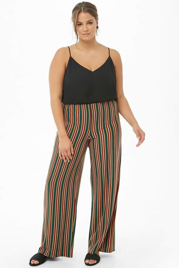 Striped Palazzo Pants Forever 21