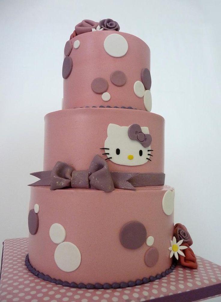 Hello Kitty  Cake/Hello Kitty  Pinterest  Hello kitty and Kitty