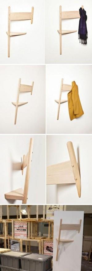 17 best images about porte manteau coat hanger on. Black Bedroom Furniture Sets. Home Design Ideas