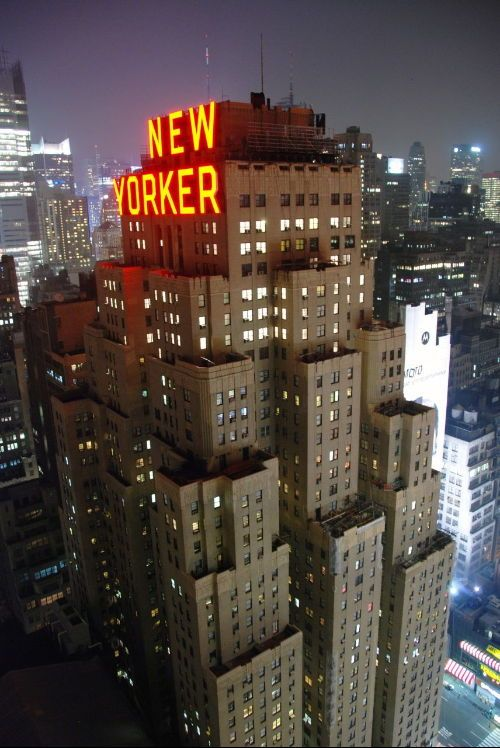 NYC. new yorker hotel: The New Yorker, Big Apple, Favorite Places, Travel, New York City, Nyc, Newyork, Hotels