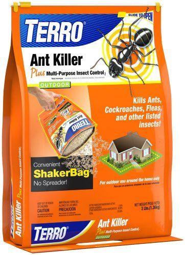 TERRO 901 Ant Killer 3lb Shaker Bag by Terro #LiveBugFree http://www.amazon.com/dp/B001B1KGCO/ref=cm_sw_r_pi_dp_3R4Yrb1621P4Y