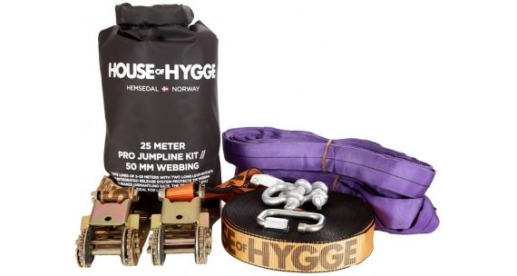 HOUSE OF HYGGE 25 METER PRO TUMPLINE KIT 1995 kr