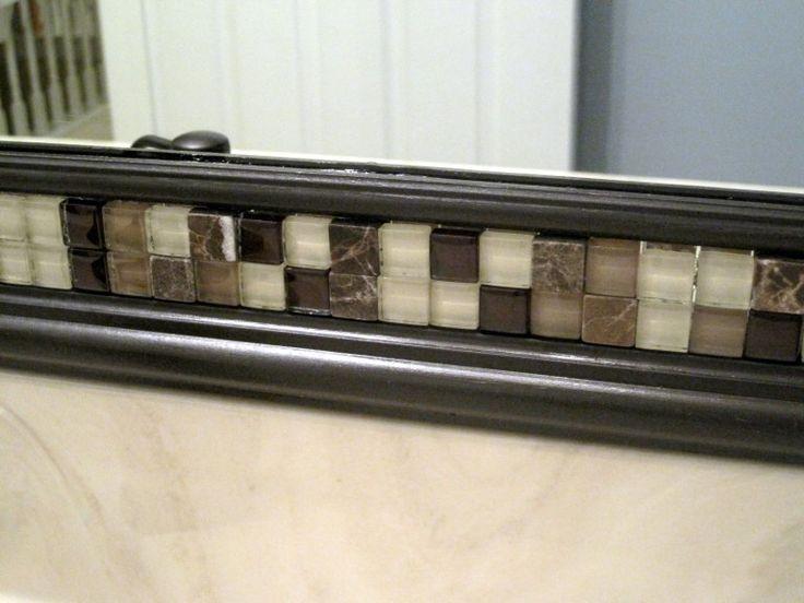 Bathroom Mirrors Framed 25+ best mirror trim ideas on pinterest | diy framed mirrors, diy