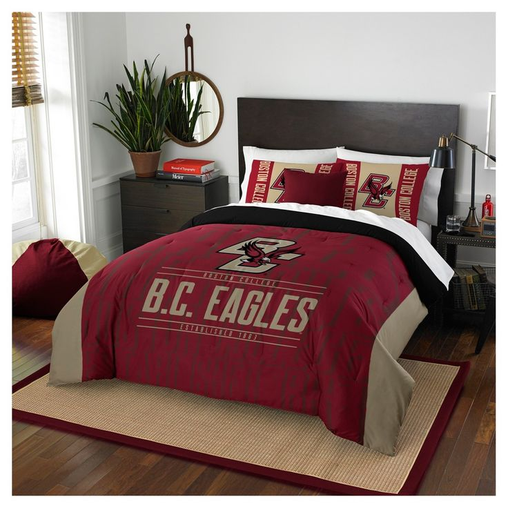 NCAA Northwest Modern Take Full/Queen Comforter Set Boston College Eagles - 86 x 86