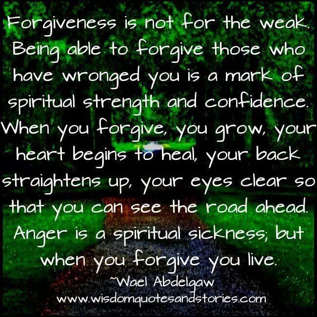 Perfect Forgiveness