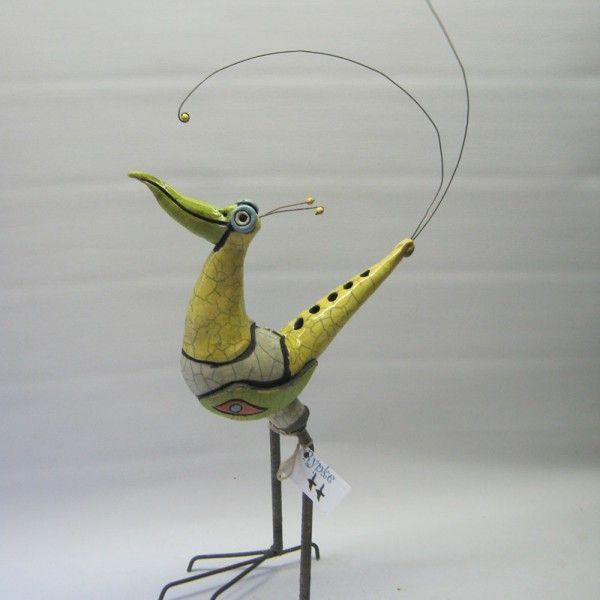 Vögel – Jellie Van Cranes   – Töpfern