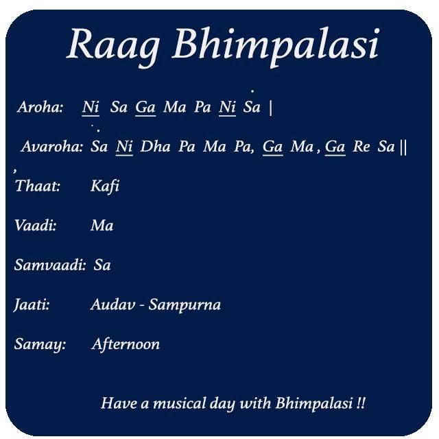 Raag Bhimpalasi Introduction