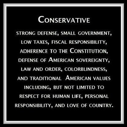 This is why I am proud to be an American Conservative! P.S. We can afford to reduce the military's budget and STILL be the baddest boy on the block. Now if we could only learn to be the planet's TRUE protector instead of a bully pretending to be a protector like some mob boss in a local neighborhood. Restore our rep in the world's eyes!