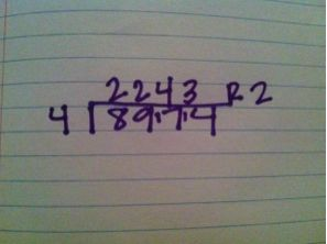 I will try this for the kids who still can't do long division in 6th grade - Katie Lately: Long Division