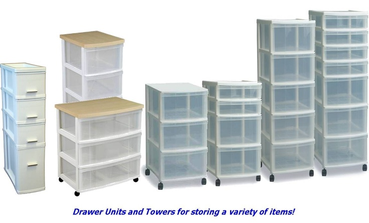 Drawer Units and Storage Towers